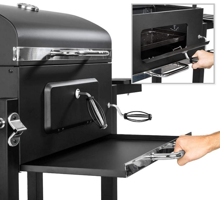 TecTake Barbacoa Barbecue Grill estante lateral