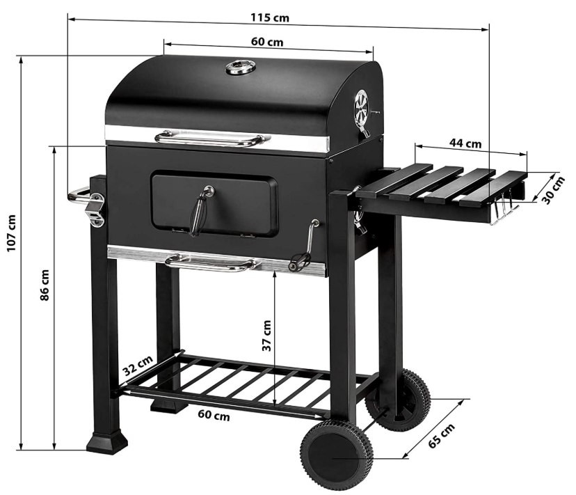 TecTake Barbacoa Barbecue Grill