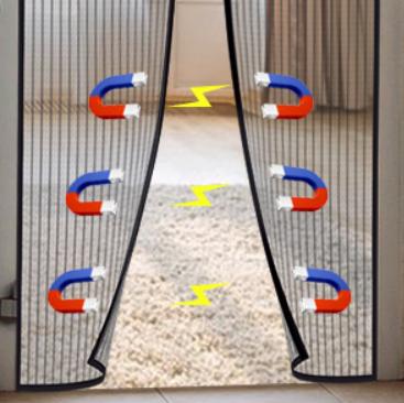 Mosquitera Puerta Magnética MYCARBON